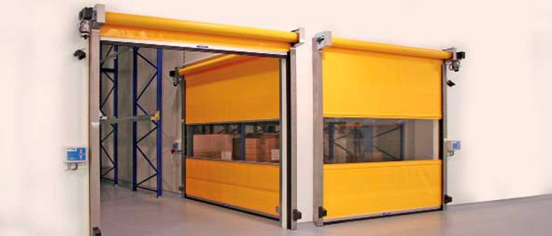 Porta rápida PVC AGM
