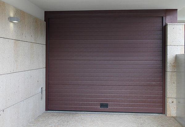 porta seccionada painel duplo AGM